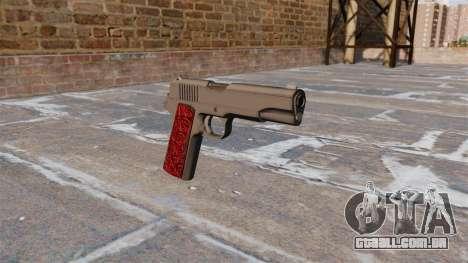 Armas Colt 1911 Chrome para GTA 4