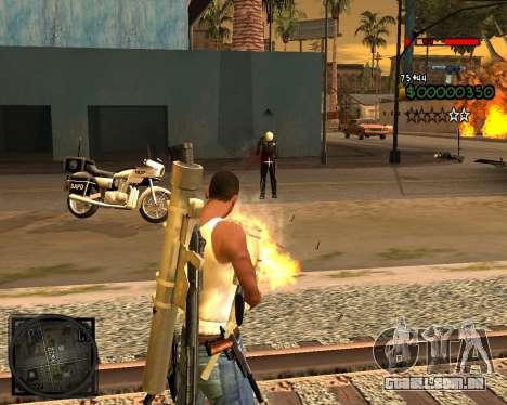 C-HUD Lite v2.0 para GTA San Andreas terceira tela