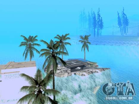 Nova ilha v1.0 para GTA San Andreas