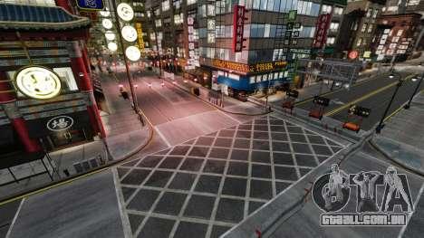 Rua ilegais deriva pista para GTA 4 por diante tela