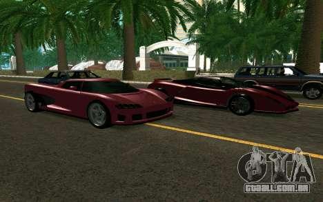 GTA V Entity XF para GTA San Andreas vista direita