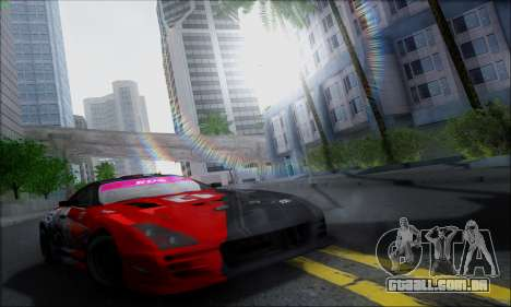 Lensflare By DjBeast para GTA San Andreas por diante tela