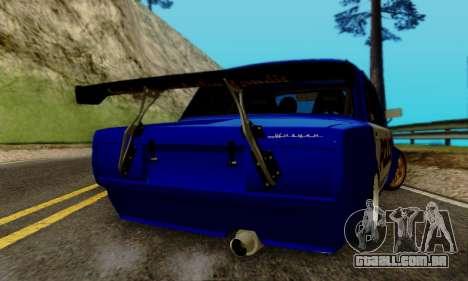 VAZ 2107 Drift para GTA San Andreas vista interior