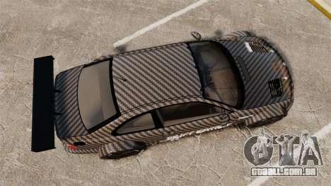 BMW M3 GTR 2012 Drift Edition para GTA 4 vista direita