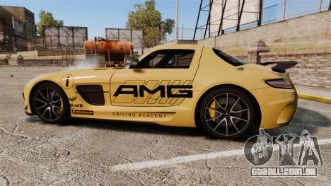 Mercedes-Benz SLS 2014 AMG Driving Academy v2.0 para GTA 4 esquerda vista