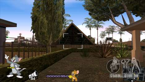 C-HUD Tom and Jerry para GTA San Andreas sexta tela