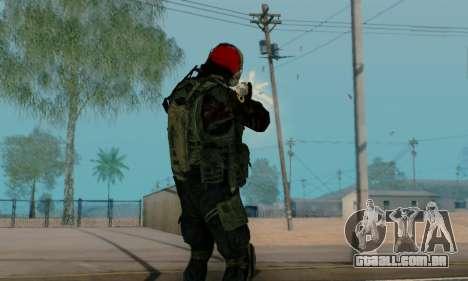 Kopassus Skin 1 para GTA San Andreas décima primeira imagem de tela