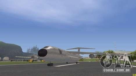Civilization Committee Andromada para GTA San Andreas traseira esquerda vista
