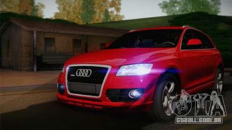 Audi Q5 2012 para GTA San Andreas vista traseira