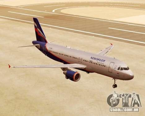 A Airbus A320-200 Tam Linhas Aereas para GTA San Andreas
