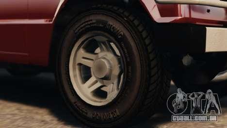 Mitsubishi Pajero I WAGON para GTA 4 vista direita