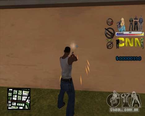 C-HUD CNN para GTA San Andreas segunda tela