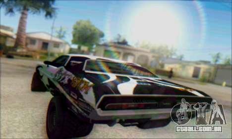 Lensflare By DjBeast para GTA San Andreas segunda tela