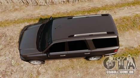 Dundreary Landstalker new wheels para GTA 4 vista direita