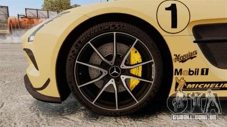 Mercedes-Benz SLS 2014 AMG Driving Academy v2.0 para GTA 4 vista de volta