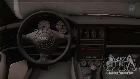 Audi RS2 Avant para GTA San Andreas vista direita