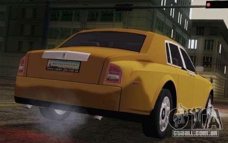 Rolls Royce Phantom 2003 para GTA San Andreas esquerda vista
