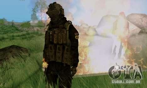 Kopassus Skin 3 para GTA San Andreas sétima tela