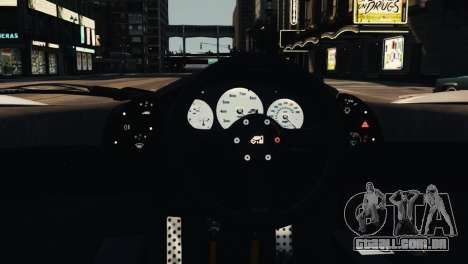 McLaren F1 XP5 para GTA 4 vista lateral