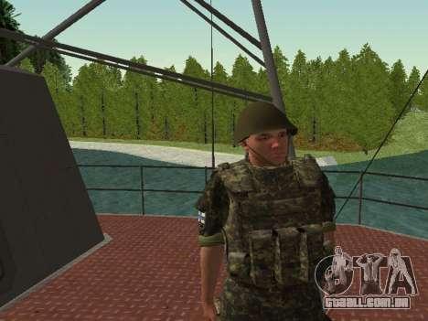 O Corpo de fuzileiros navais das forças armadas  para GTA San Andreas nono tela