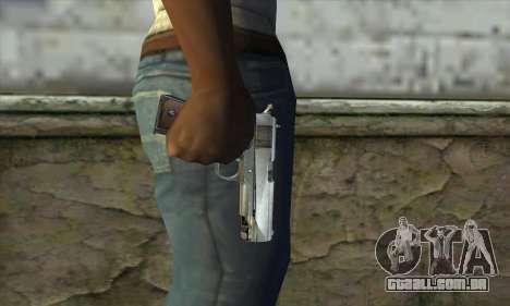 Pistola para GTA San Andreas terceira tela