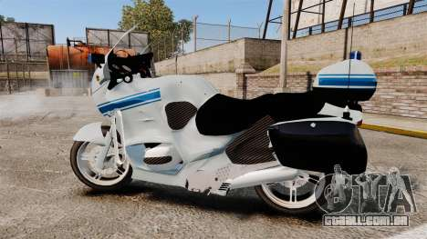 BMW R1150RT Police municipale [ELS] para GTA 4 esquerda vista