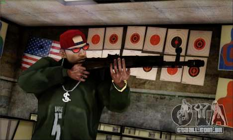 Alfa Team Weapon Pack para GTA San Andreas oitavo tela