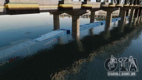 A estrada debaixo da ponte para GTA 4 terceira tela