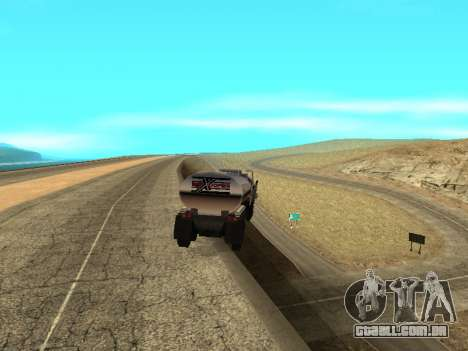 Anti-desacoplamento trailer para GTA San Andreas segunda tela