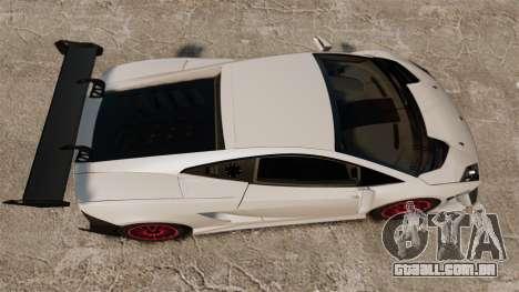 Lamborghini Gallardo LP570-4 Super Trofeo para GTA 4 vista direita