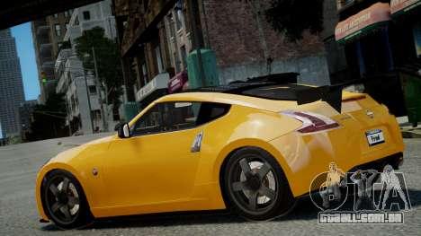Nissan 370Z 2009 para GTA 4 esquerda vista