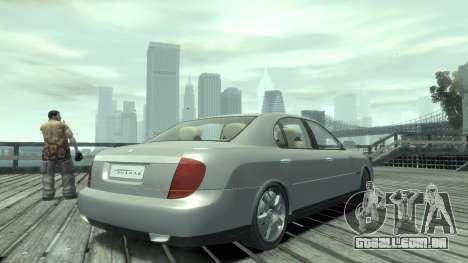 Daewoo Shiraz para GTA 4 esquerda vista