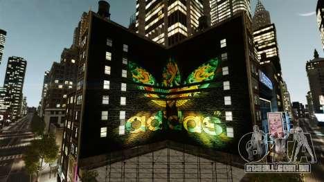 Grande publicidade da Adidas Originais para GTA 4 segundo screenshot