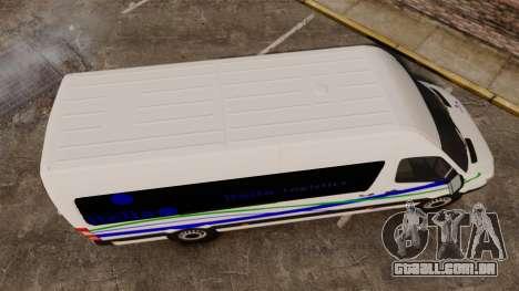 Mercedes-Benz Sprinter Itella Logistics para GTA 4 vista direita