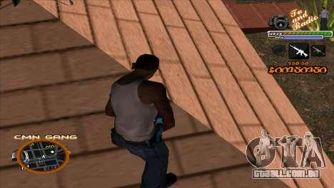 C-HUD TV-Centro para GTA San Andreas segunda tela