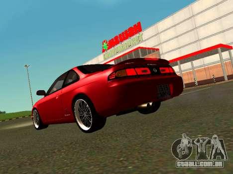 Nissan Silvia S14 Zenki para GTA San Andreas esquerda vista