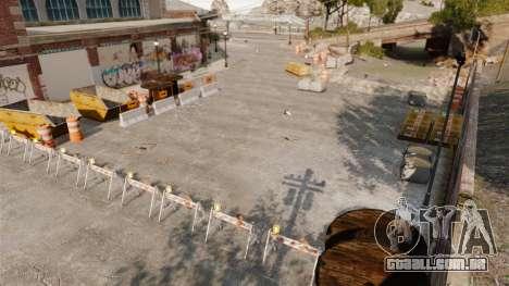 Pista de Rally para GTA 4 sexto tela
