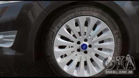 Ford Mondeo Mk.IV para GTA 4 traseira esquerda vista