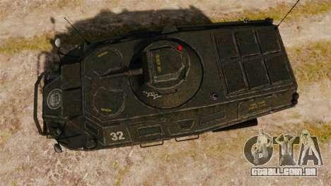 GTA IV TBoGT APC para GTA 4 vista direita
