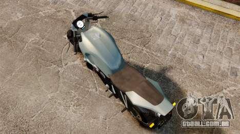 GTA V Pegassi Ruffian para GTA 4 traseira esquerda vista