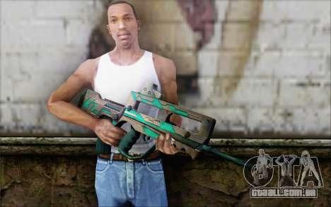 Famas G2 Commando Blaze para GTA San Andreas terceira tela