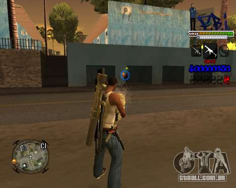 C-HUD FBI By iFreddy para GTA San Andreas