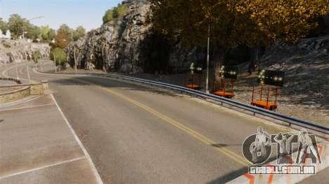 Pista de Rally para GTA 4 sétima tela