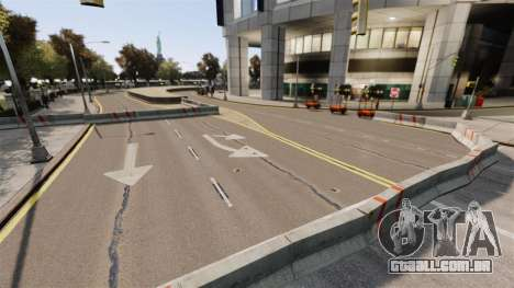 Rua ilegais deriva pista para GTA 4