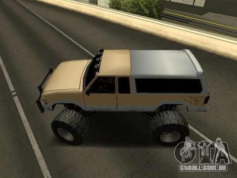 Novo Monstro para GTA San Andreas vista direita