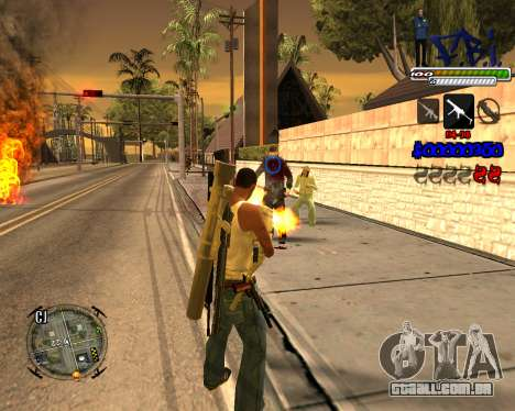 C-HUD FBI By iFreddy para GTA San Andreas terceira tela