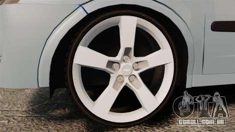 Chevrolet Corsa Premium Sedan para GTA 4 vista de volta