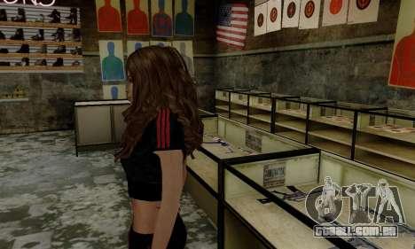 Carlita para GTA San Andreas segunda tela