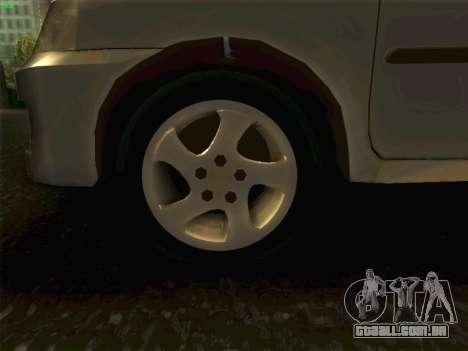 Mazda Demio 1998 para GTA San Andreas vista traseira