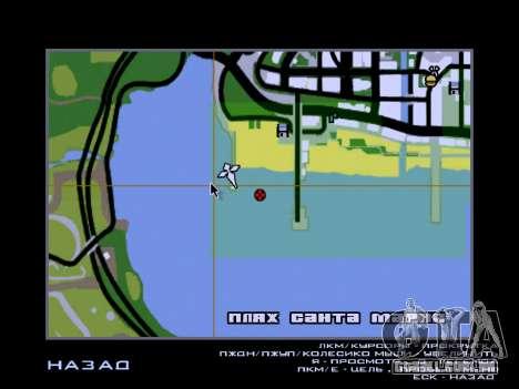 Nova ilha v1.0 para GTA San Andreas décima primeira imagem de tela